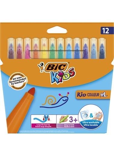 Bic Kid Couleur XL Keçeli Boya Kalemi 12 li Kutu 828966 Renkli